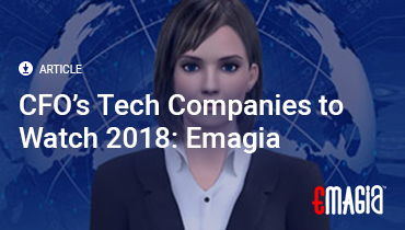 CFO's Tech Companies to Watch 2018: Emagia