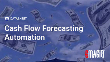 Emagia Cash flow Forecasting Datasheet