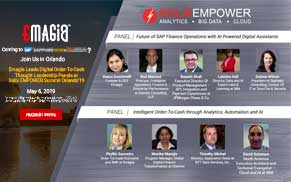 Emagia Leads Digital Order-To-Cash Thought Leadership Panels at Solix EMPOWER Summit Orlando'19