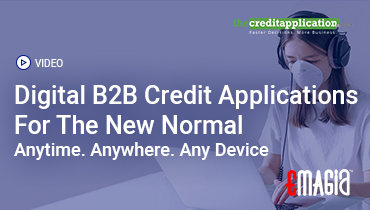 Digital B2B Credit Applications For The New Normal