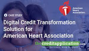 Digital Credit Transformation Solution for American Heart Association