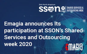Emagia announces its participation at SSON's Shared Services and Outsourcing week 2020