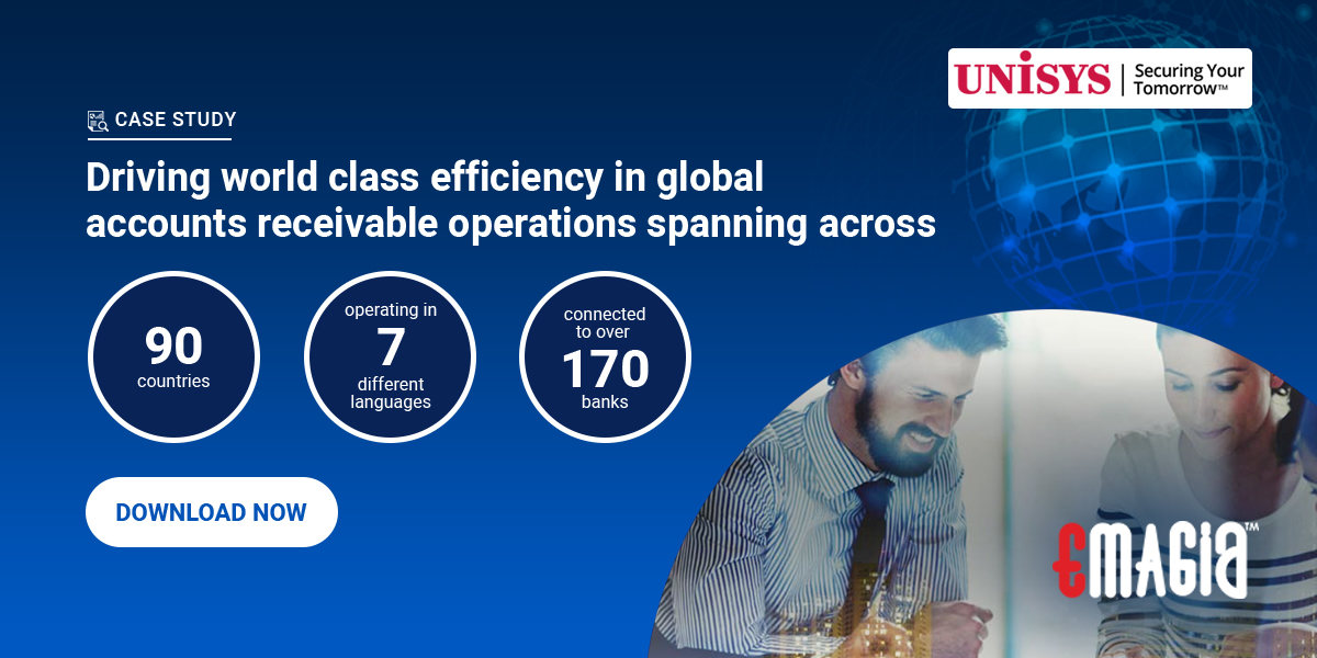 Unisys Finance Shared Services Boost Operational Excellence with Emagia