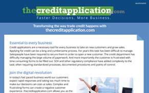 Transforming the way Trade Credit happens with thecreditapplication.com